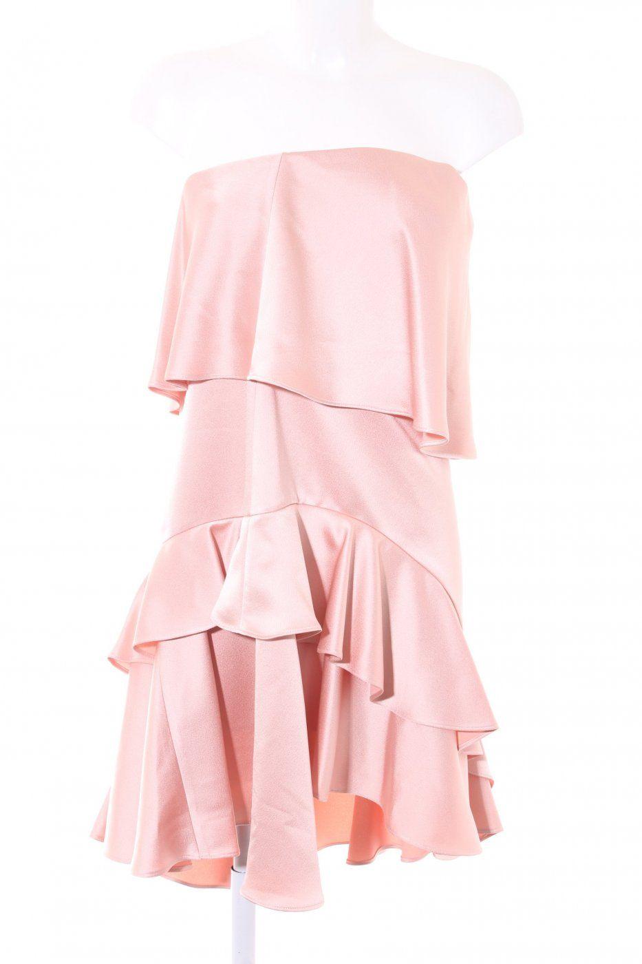 Halston Heritage Abendkleid Altrosa Elegant Abendkleid Altrosa Halston Heritage Abendkleid