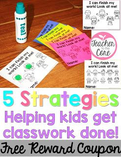 Ideas To Help Your Students Get Their Classwork Done Classwork