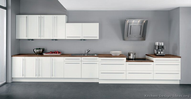 Modern white kitchen cabinets 02 kitchen for Alno kitchen cabinets