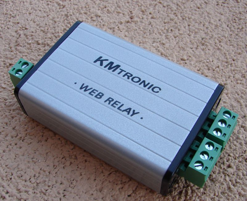 Some Photos My Home Automation Parts – KMtronic and Domoticz – TCP