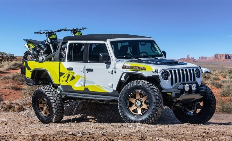 2019 Jeep Gladiator Gravity Concept Top Speed In 2020 Jeep Gladiator Easter Jeep Safari Jeep Pickup