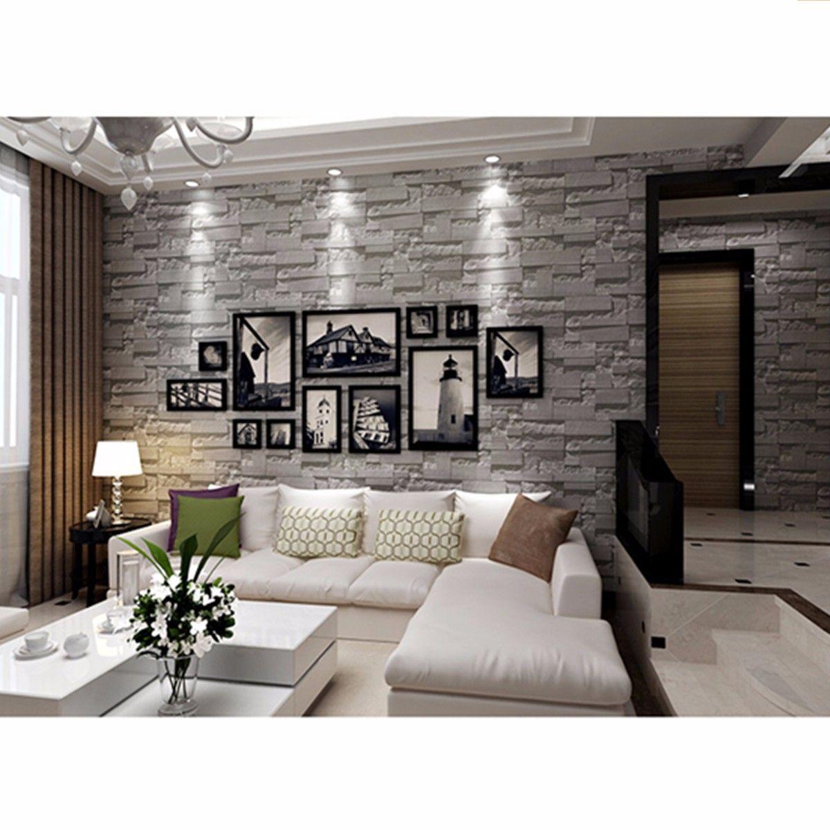 Home Improvement In 2020 Decor Fake Walls Stone Wallpaper
