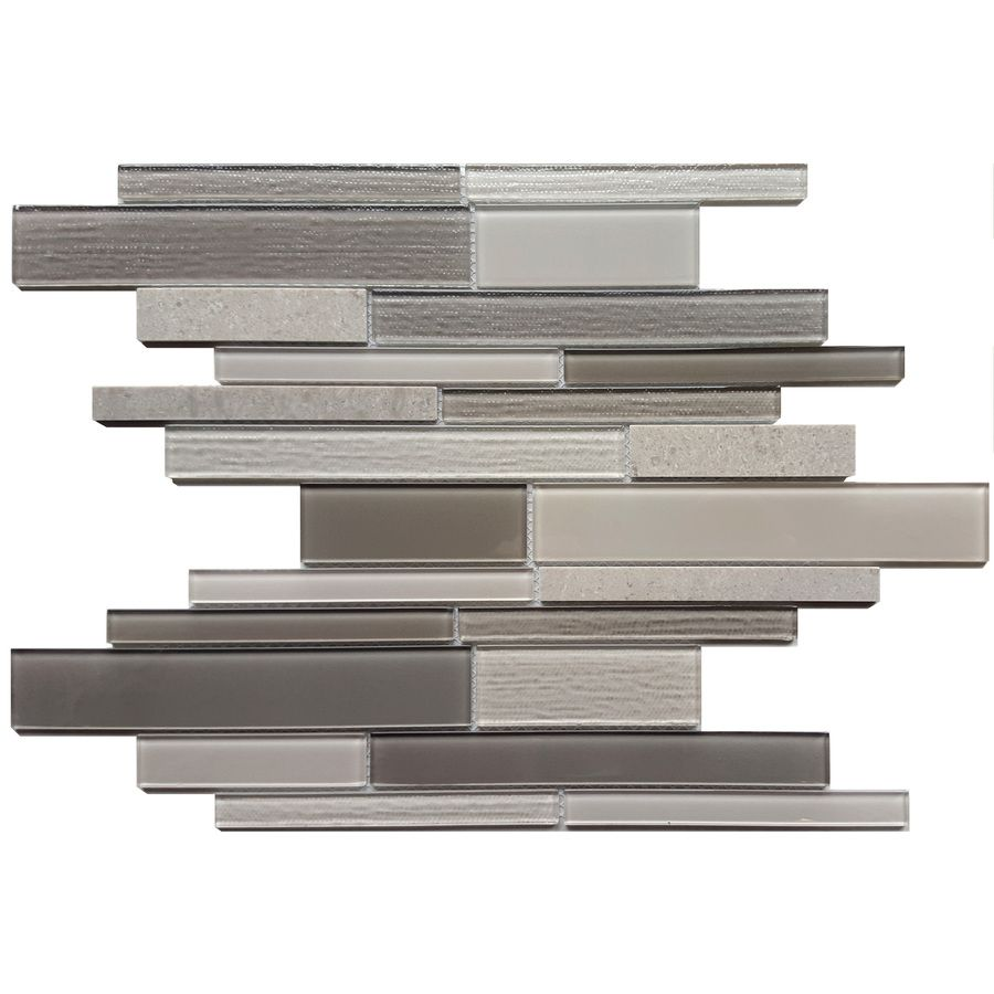 Shop Avenzo X Arctic Fog Marble Strip Mosaic Wall Tile At Lowes Canada Find Our Selection Of Floor The Lowest Price Guaranteed With Match