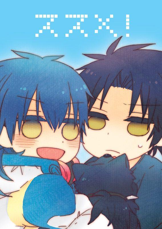 Ren and Aoba | Dramatical murder