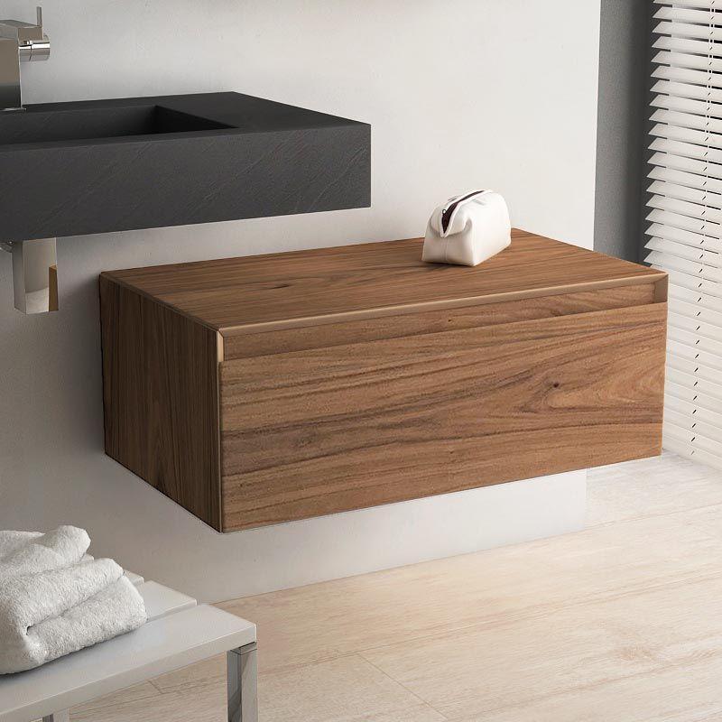 8 meubles de salle de bain en bois - Le blog masalledebain