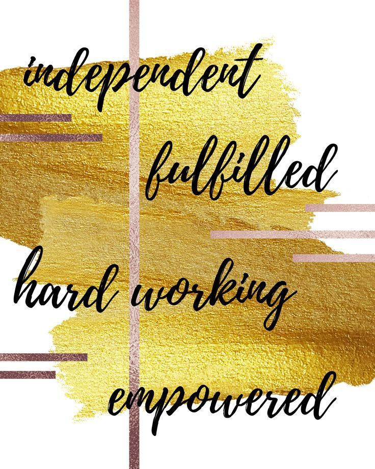 Independent Female Entrepreneurship Motivational Quote Wall Art Download Home & Office Decor Hustle