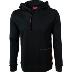 Photo of Hugo hooded sweatshirt men, cotton, black Hugo Boss