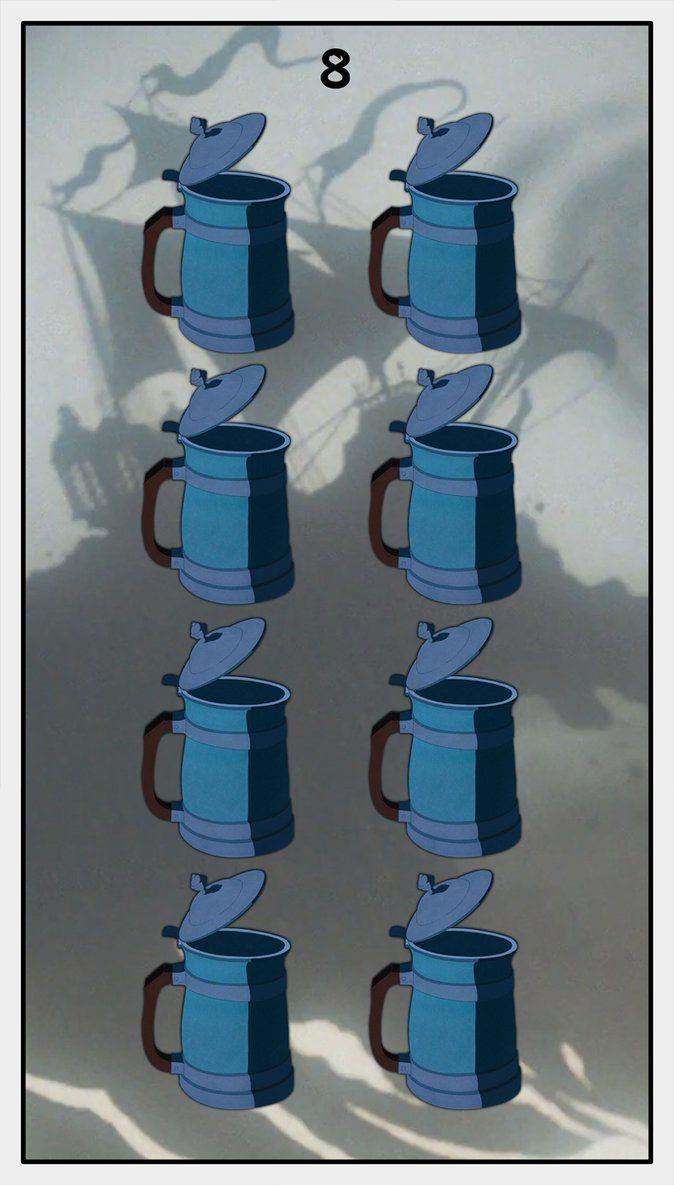 Dmorte Tarot Cups: 8 by dmorte on DeviantArt