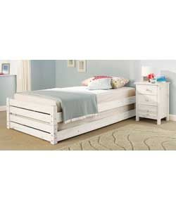 Best Stackable Single Beds White Bedding Bed Guest Bed 400 x 300