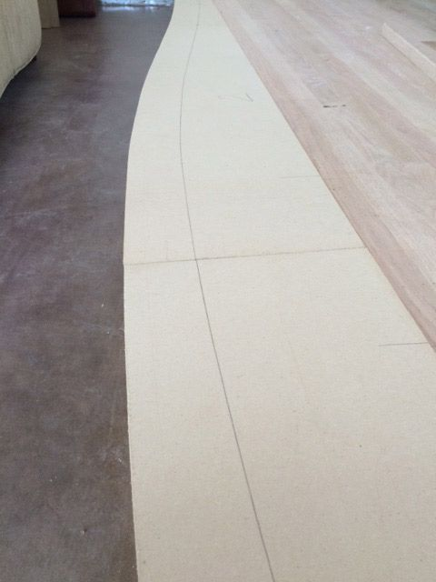Installing A Curved Stair Nosing, Part 2   Hardwood Floors Magazine