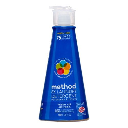 Method 8x Laundry Detergent Fresh Air 75 Loads Laundry