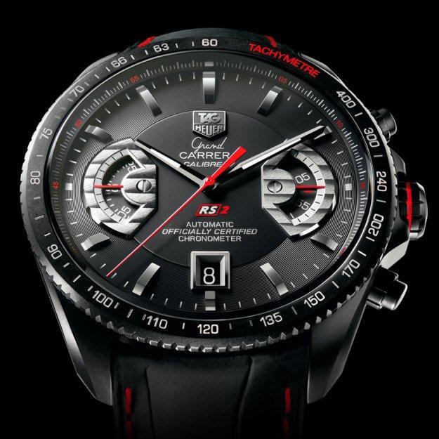 8f6825e7cff Relógio TAG Heuer Grand Carrera Calibre 17 - Caixa redonda