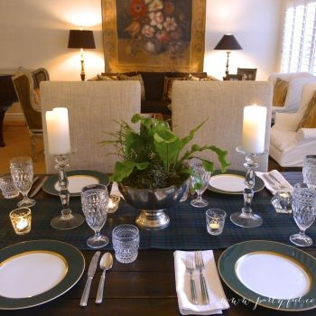 Luck of the Irish Dinner Party - Table Centerpiece and Setting - Partyful & Luck of the Irish Dinner Party - Table Centerpiece and Setting ...