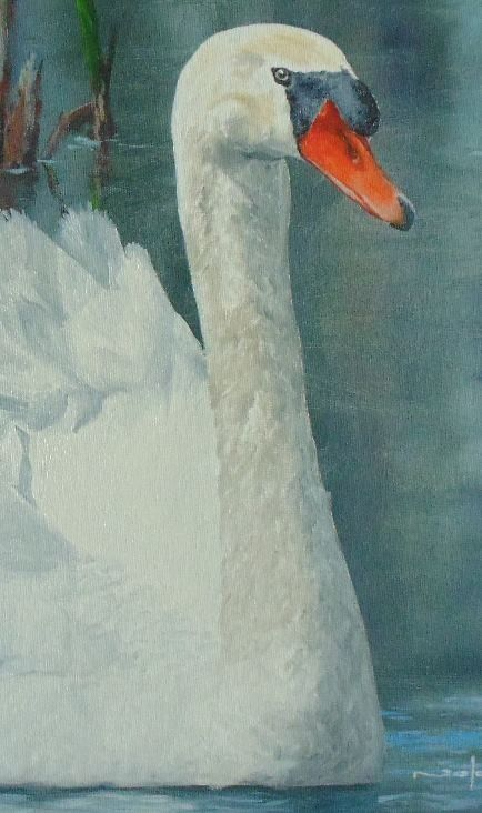 How to Paint a Swan in Oil — Online Art Lessons | Gouache and ...