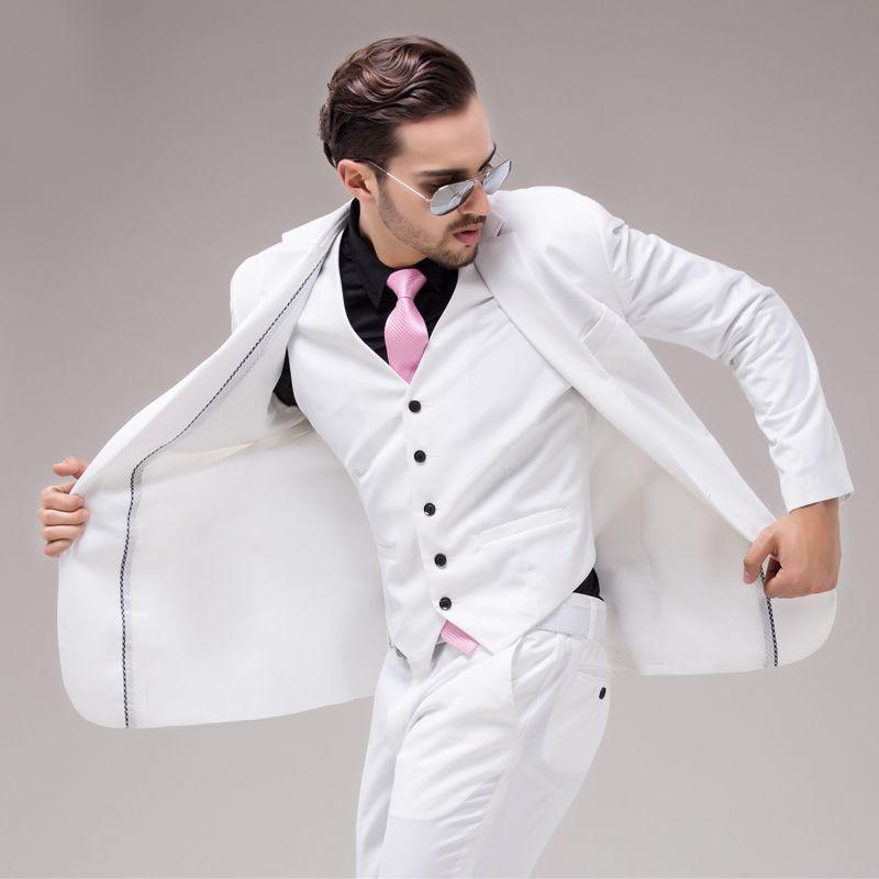 White Suit | Pánská Móda -Tuxedos | Pinterest | Formal dresses ...