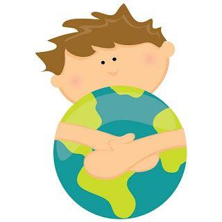 Dibujos Ninos Cuidando El Mundo Cuidar El Planeta Medio