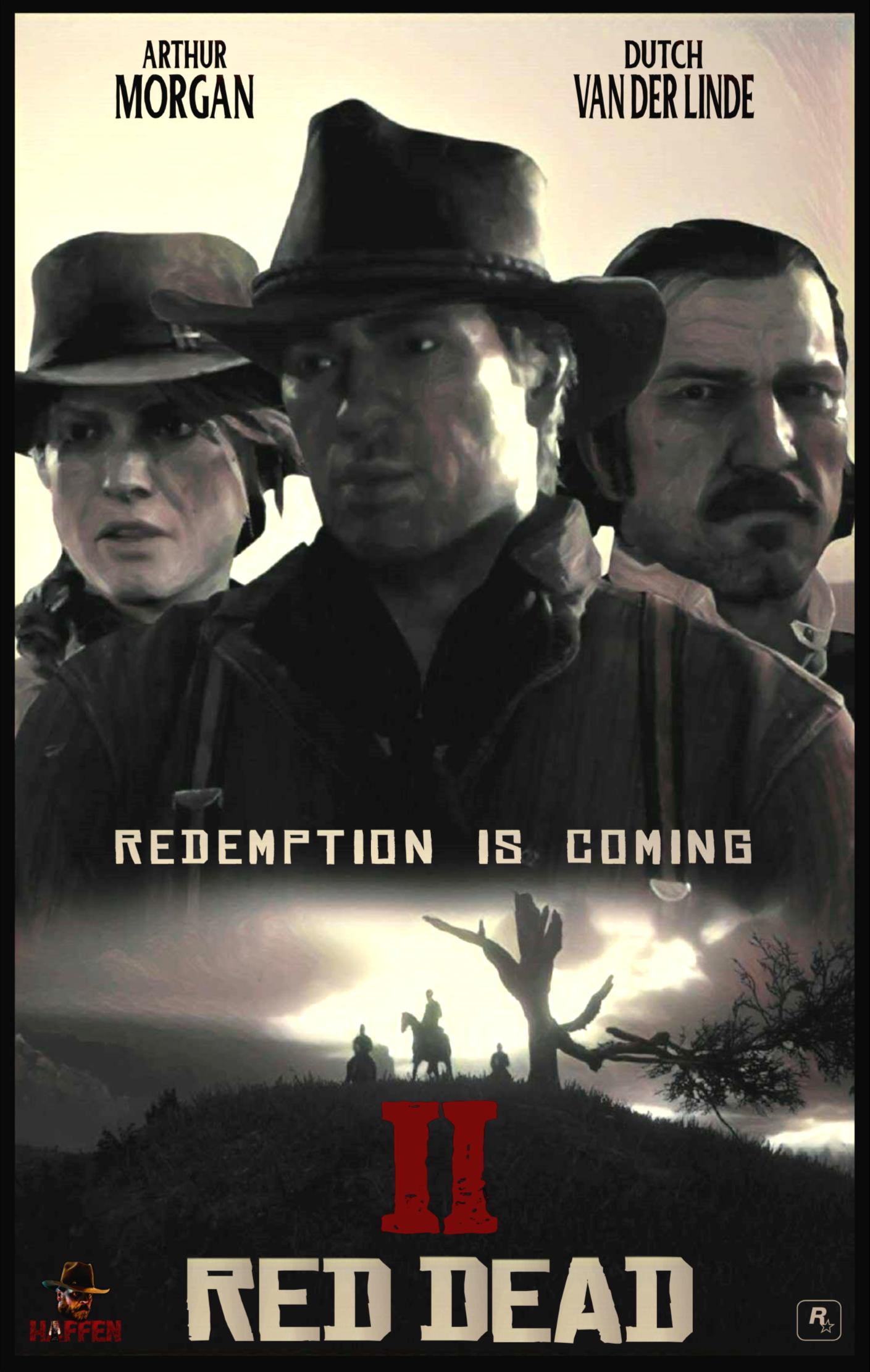 Redemption Is Coming Fan Art By Haffen Red Dead
