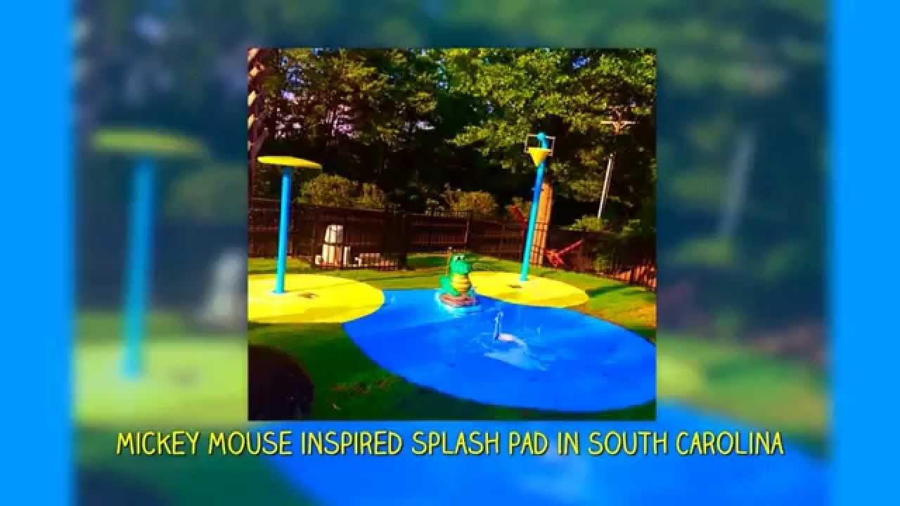 my splash pad residential backyard water park a splashpad is the