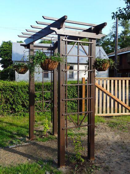 How To Build A Trellis Outdoor Pergola Garden Arbor 400 x 300