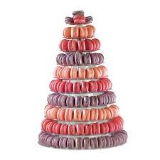 10 Tier Display Tower Or Pyramid Stand For Macarons Macaron Tower Macaroons Cake Decorating