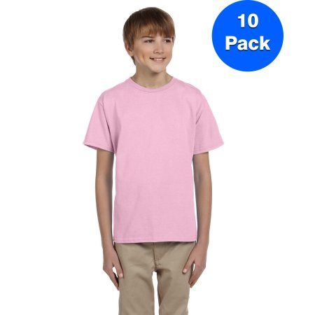 Fruit of the Loom Boys Cotton Tank Top Undershirt Multipack