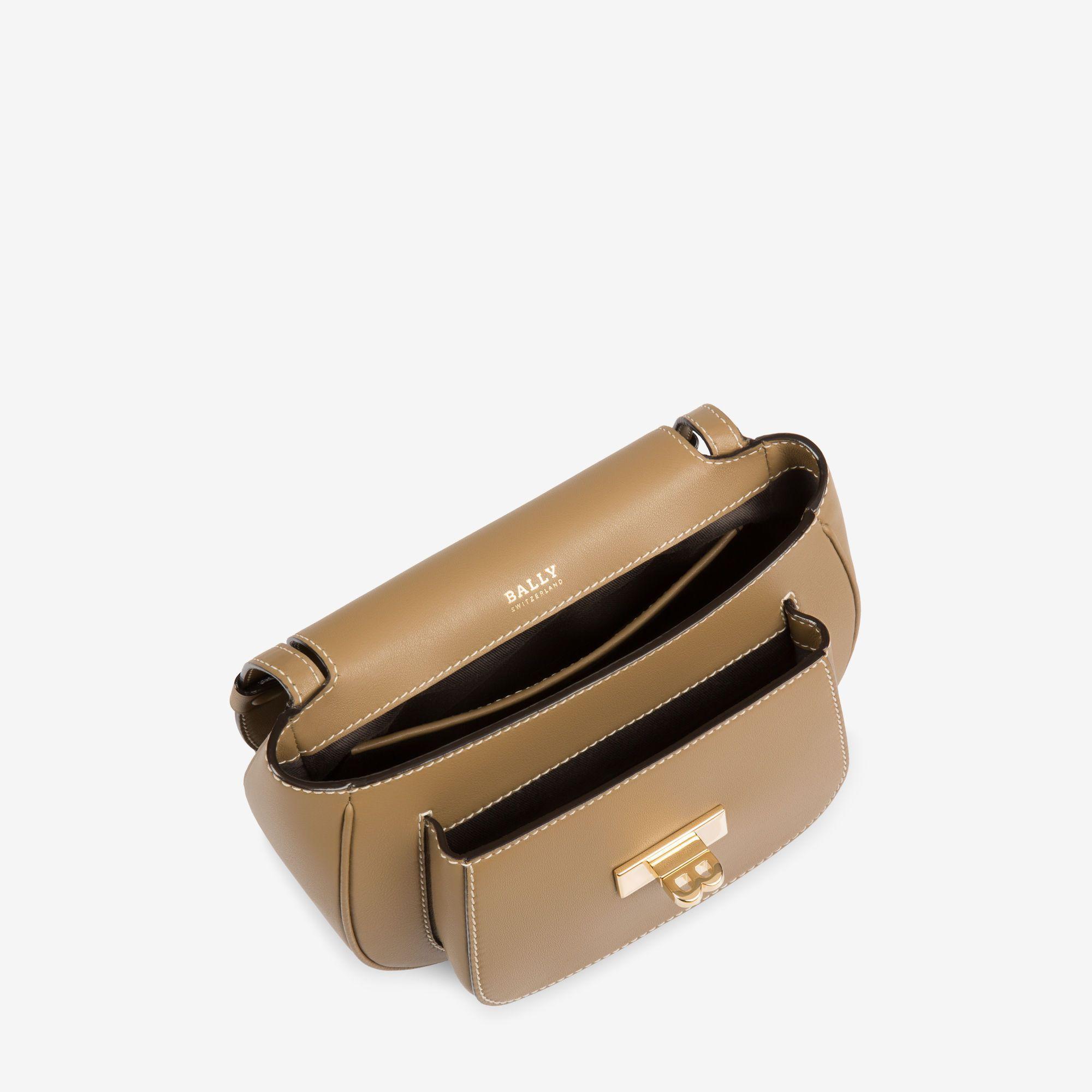 B TURN SADDLE BAG MEDIUM - BEIGE BOVINE Shoulder Bags   Womens ... c0164968e7