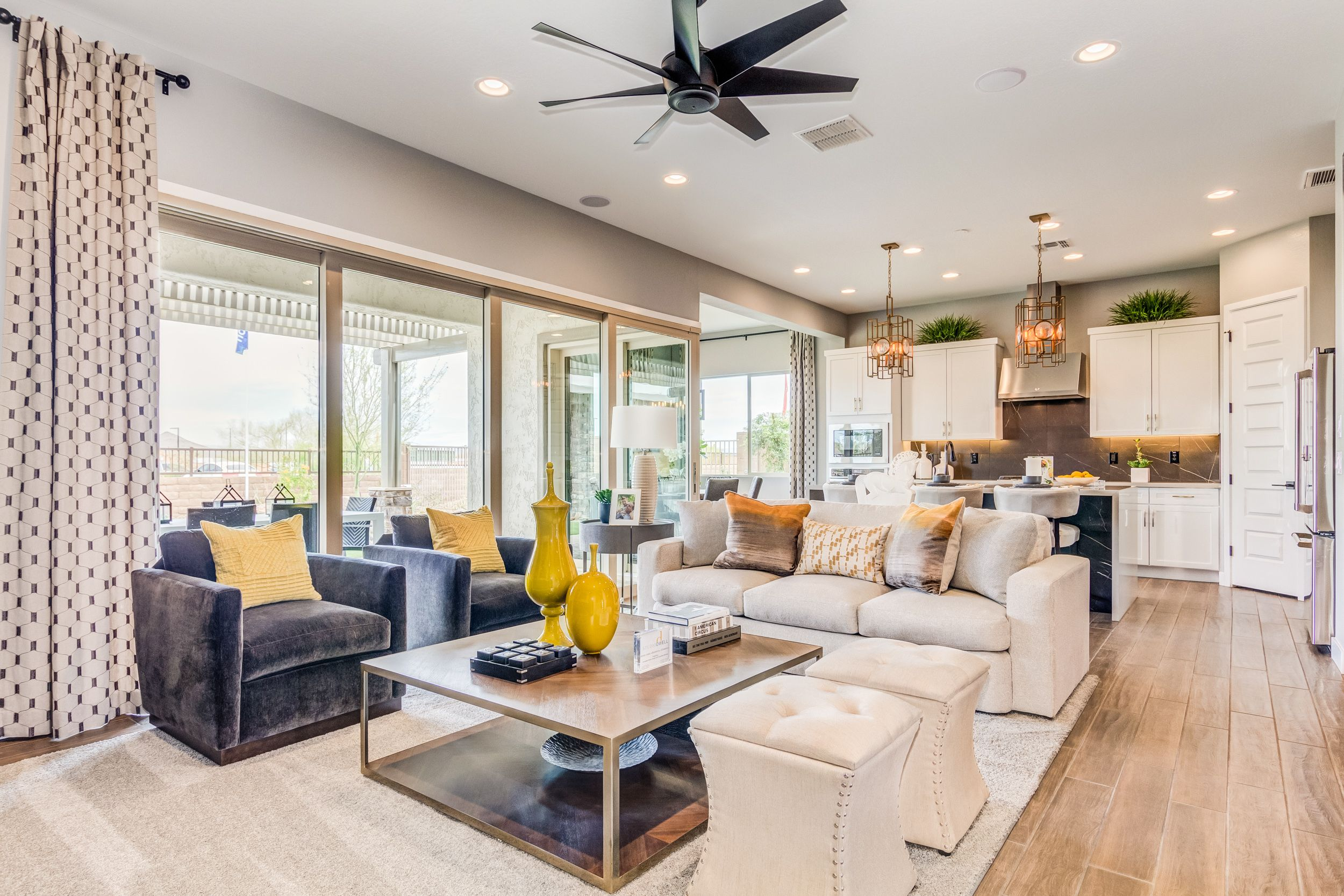 Alluring From All Angles Livingroom Patio Roomwithaview Sunnydays Taylormorrison Phoenix Realestate With Images New Homes Model Homes Phoenix Homes