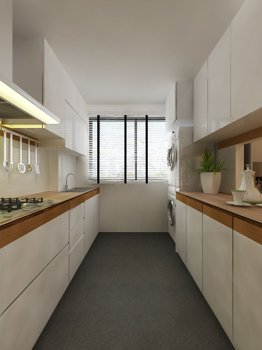 Best Cool Kitchen Design Ideas For Hdb Flats