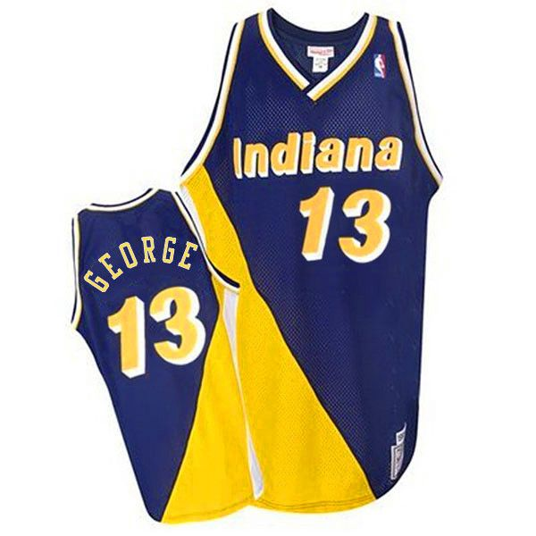 best website 14065 c26ea Mitchell and Ness Pacers #31 Reggie Miller Stitched ...