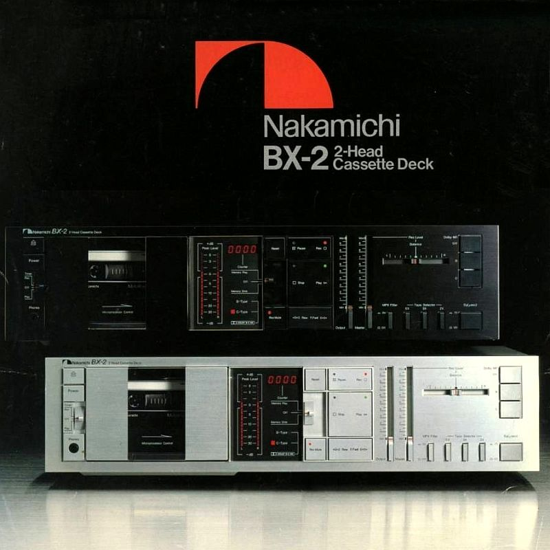 Black or Silver | Nakamichi 1982 #audiovideo