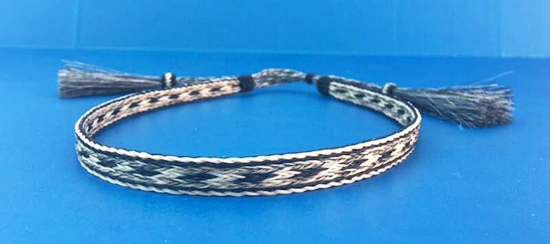 Western Cowboy//Cowgirl Jewelry HANDMADE Woven Horsehair Bracelet