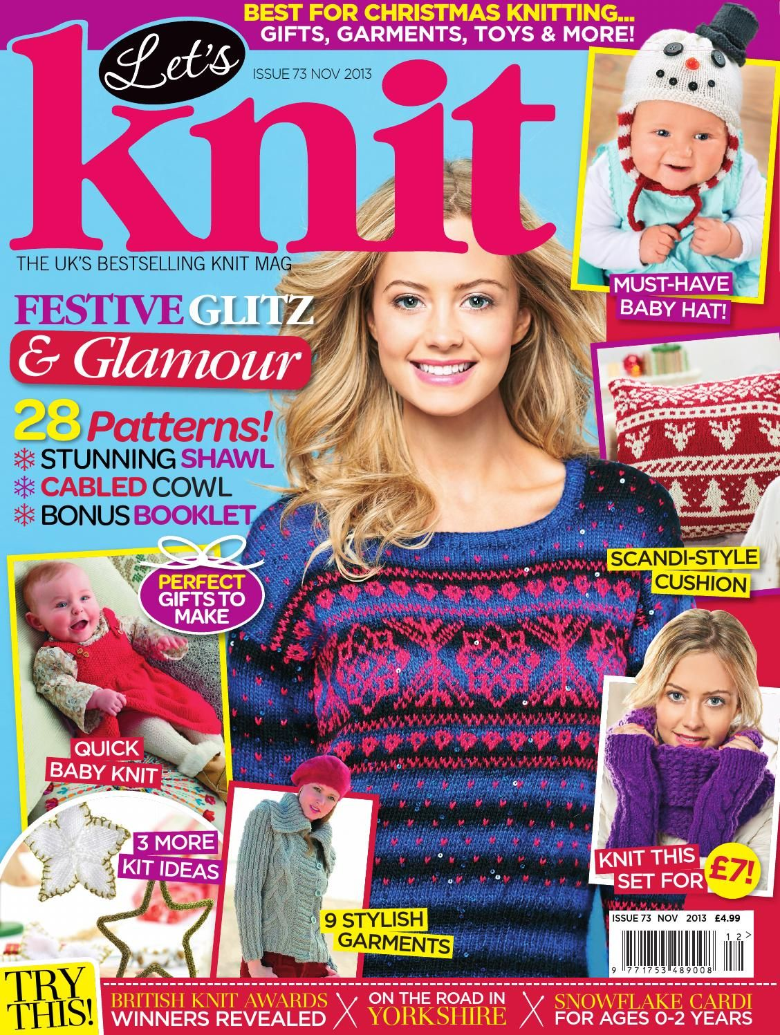 2019 year for lady- Stylish simply knitting how many issues
