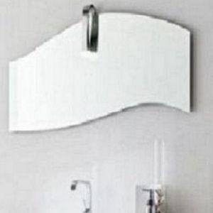 Specchio e specchiera bagno Onda con faretto - Arbi arredobagno ...