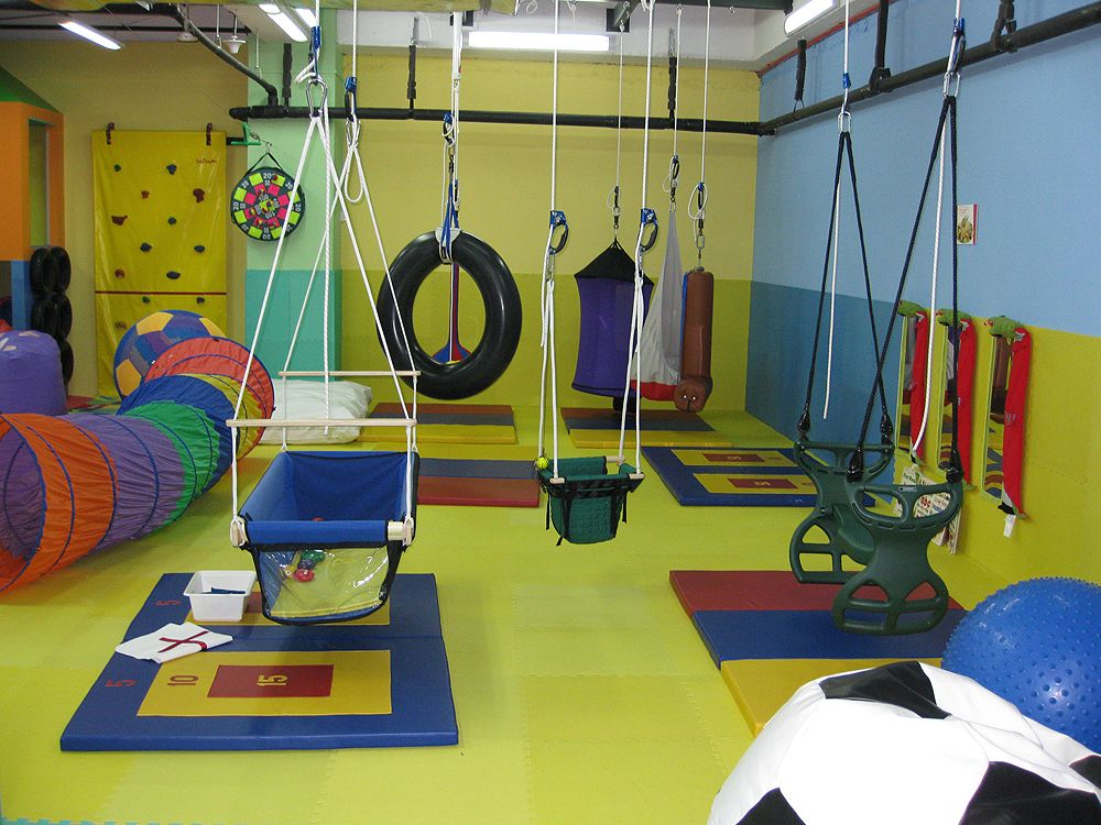 Royce kids gym sensory rooms playroom basement