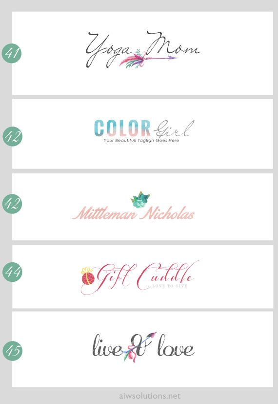 logo design template , Banner Template , Blogger Header, Wordpress - Etsy Banner Template