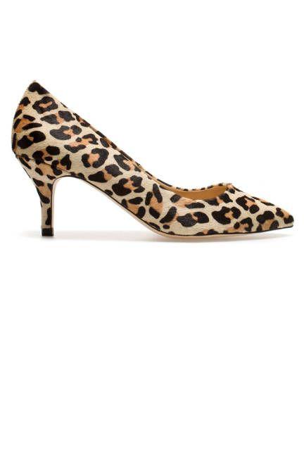 Zara leopard-print pumps -- for a steal  shoes  leopard print  fashion   style 432bdbe3fe0