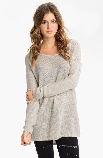Rubbish® Knit Oversized Sweater (Juniors) | Nordstrom | Dream ...