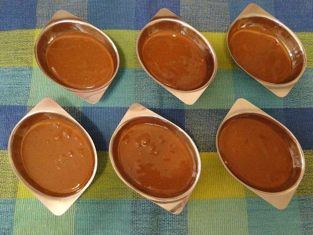 Mousse de Doce de Leite com Chocolate