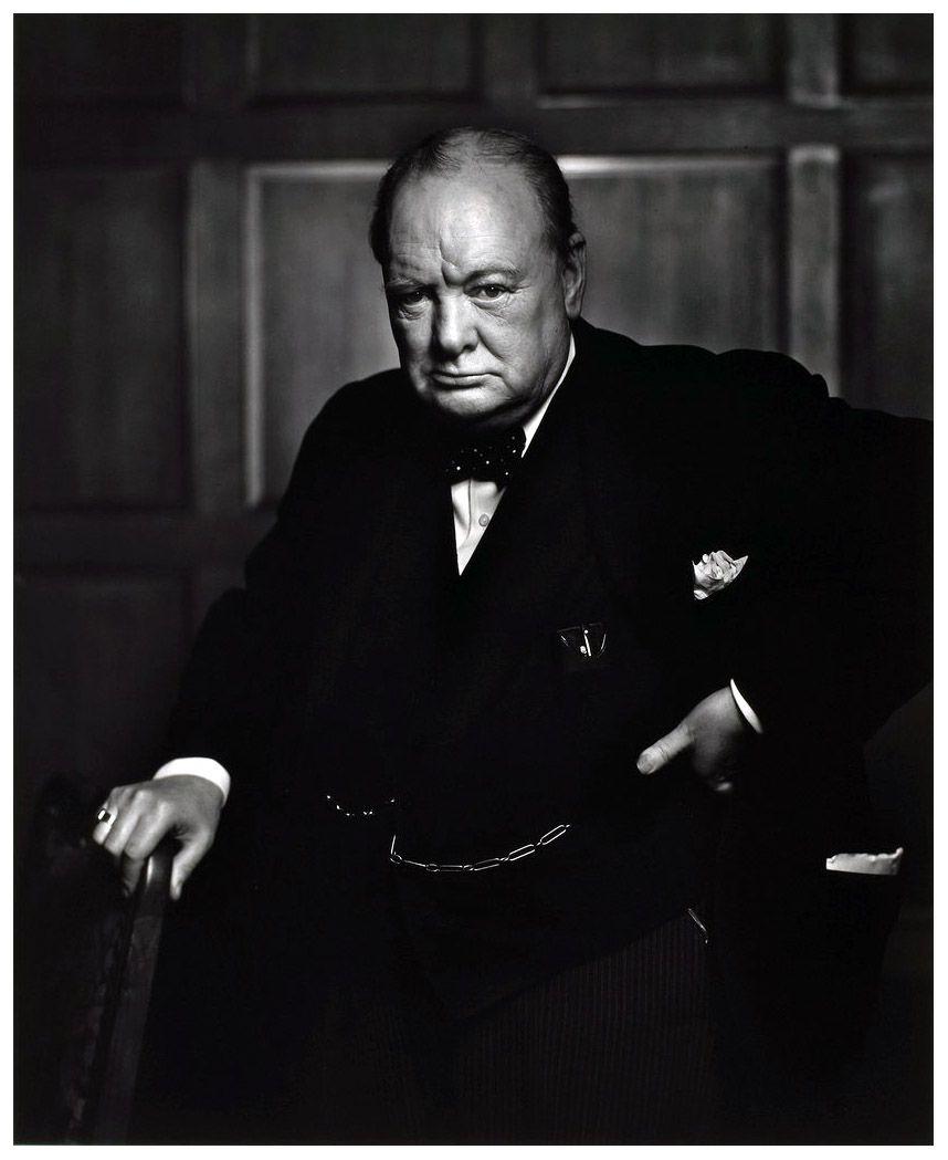 Photo Yousuf Karsh, Winston Churchill (1874-1965), 30 December 1941