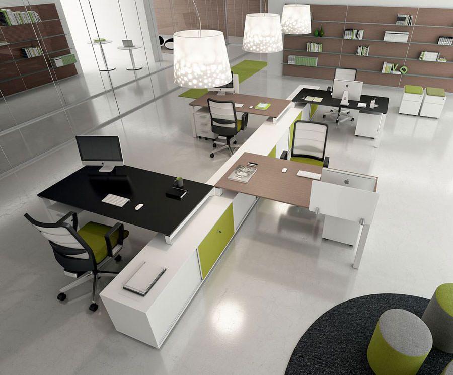 Design Di Mobili Per Ufficio : Mobili per ufficio dal design moderno idee di arredo office