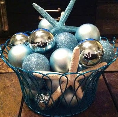 What To Put In Bowls For Decoration Christmas Balls Bowl  What A Pretty Centerpiece That Would Make