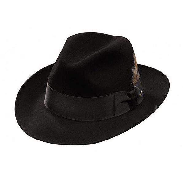 46e9b0a1 Stetson Temple Fur Felt Fedora Hat | Hat LOVE <3 | Fedora hat, Hats ...