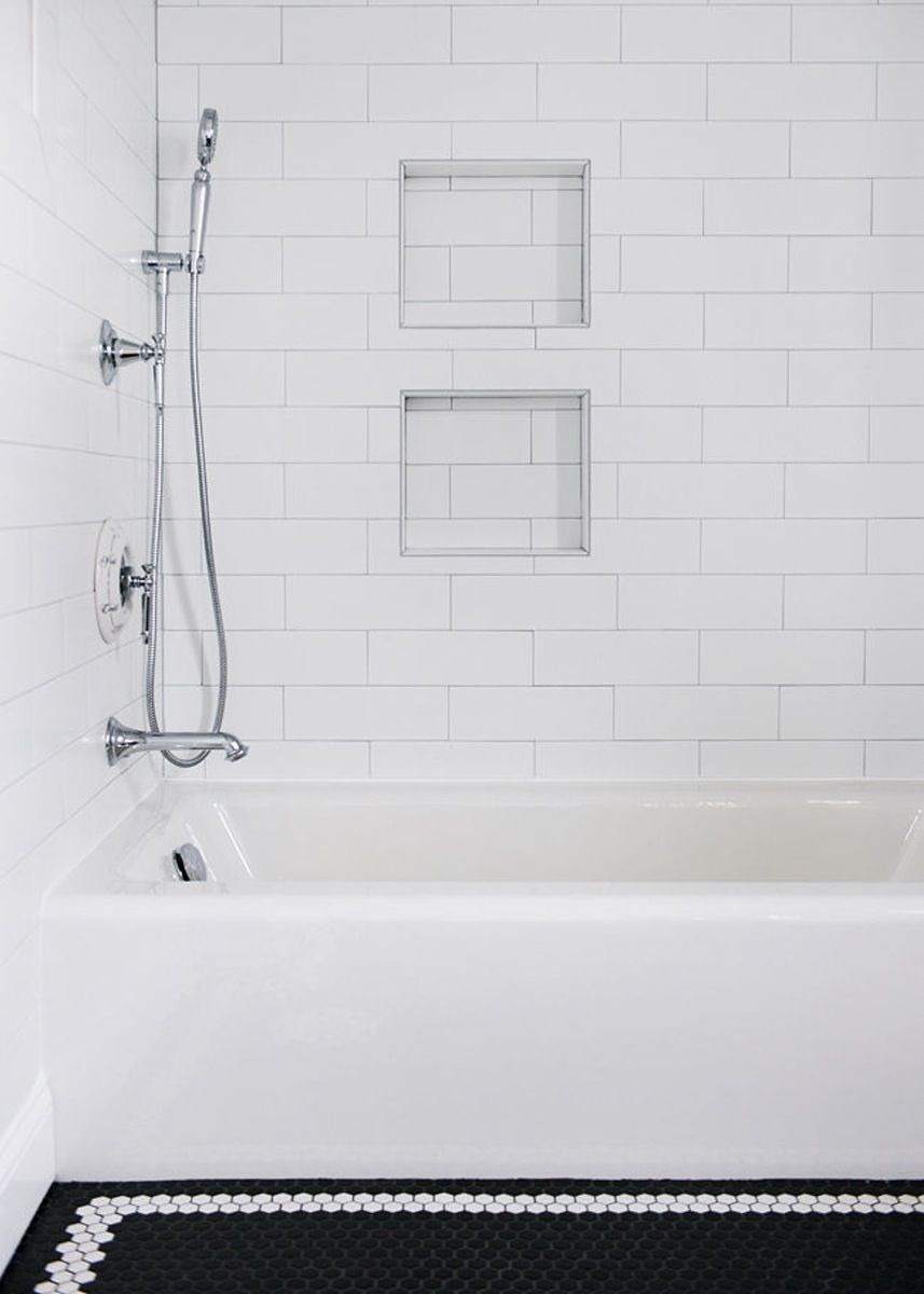 Manhattan 4 X 12 Snow White Glossy Subway Tile