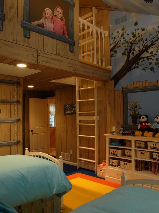 what child doesnt want a tree house why not bring the tree house - Kids Treehouse Inside