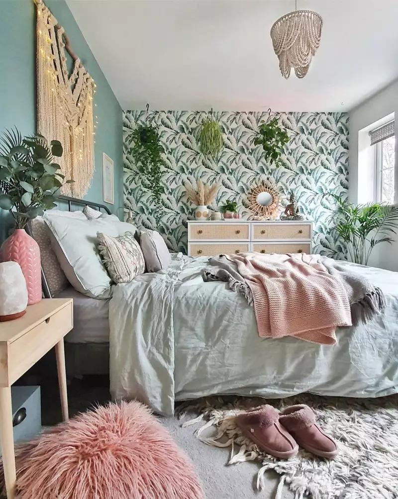 20 IKEA Bedrooms That Look Chic in 20   Ikea bedroom, Bedroom ...