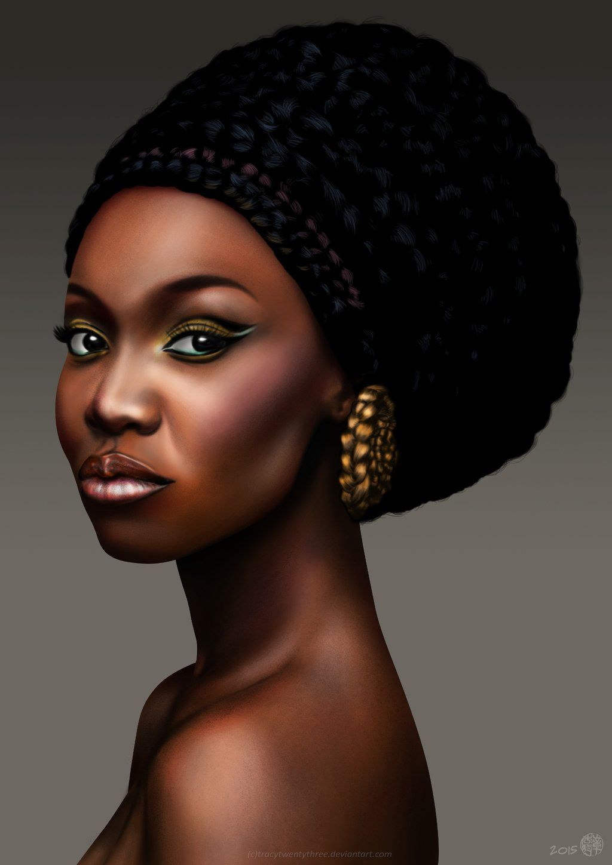 Nana Afua Antwi Tracytwentythree Black Art Women Female Girl