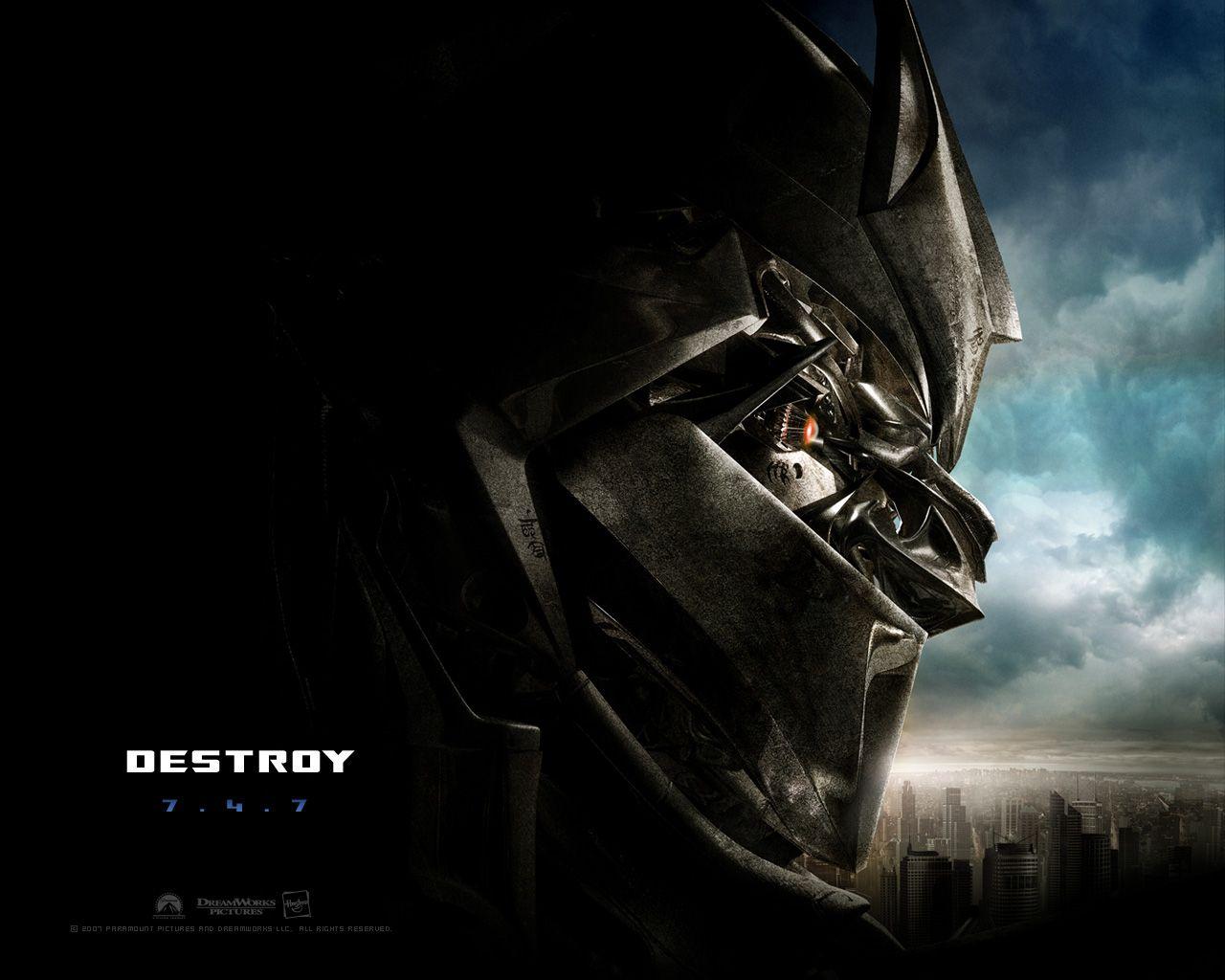 Transformers Wallpaper: Transformers Movie: Megatron