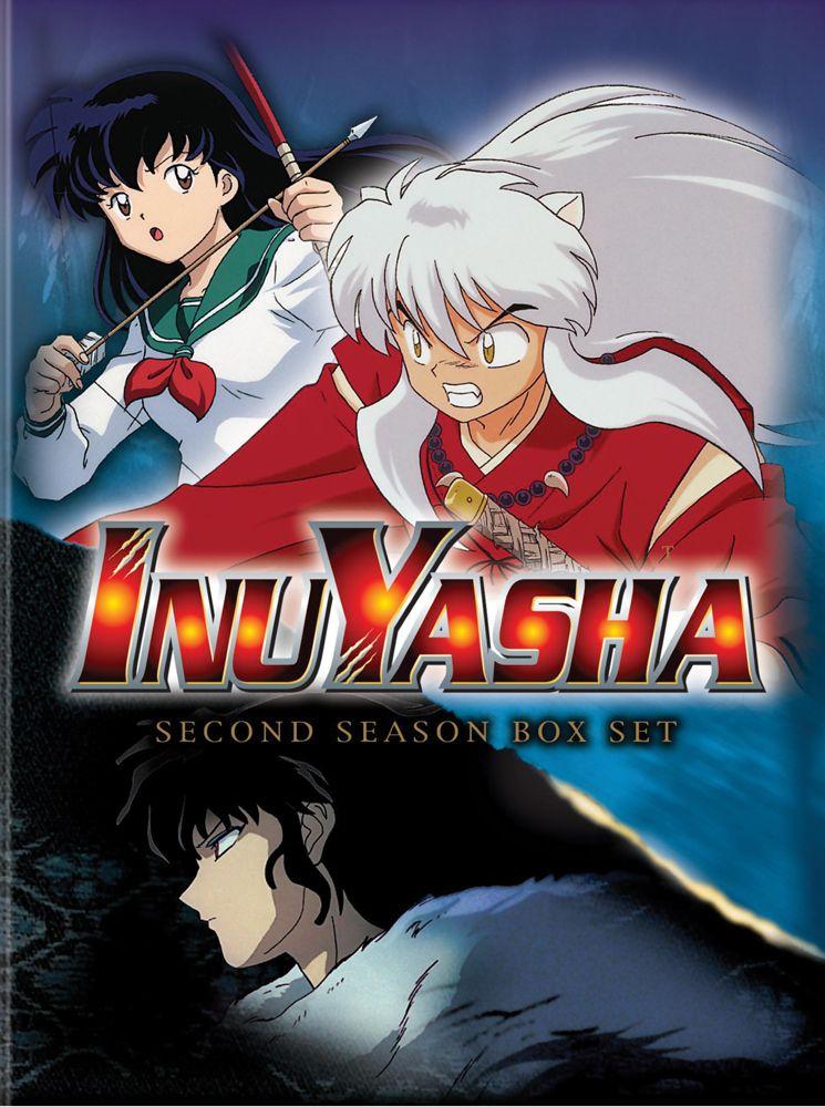 Inu Yasha Season 2 DVD Set (Hyb) anime Inuyasha, Anime