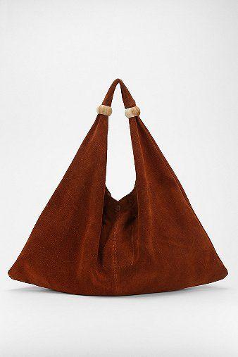 Alternative Talisman Suede Hobo Bag