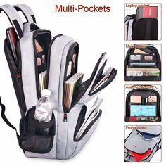 KUPRINE Travel Anti Theft Slim Durable Laptop Backpacks for Women Mens Lightweig 600141852775 | eBay #backpacks